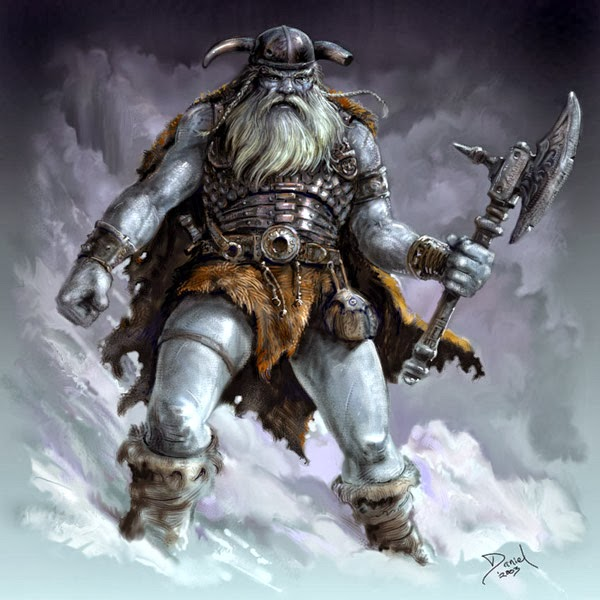 Norse Frost Giant illustration
